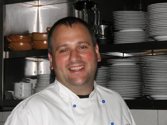 Chefkoch und Inhaber Jörg Dietz